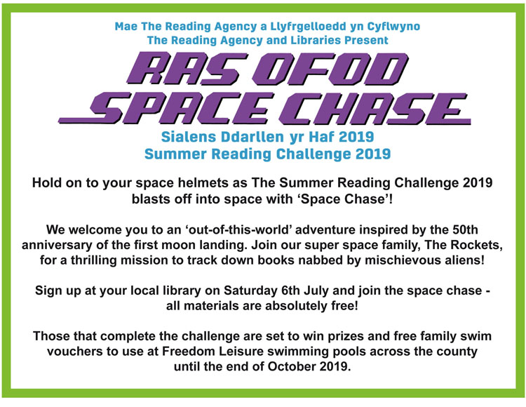 Summer Reading Challenge - Ysgol Bro Cynllaith